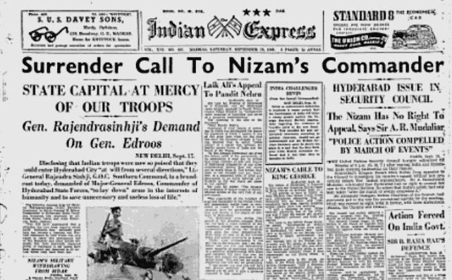 Surrender of Hyderabad