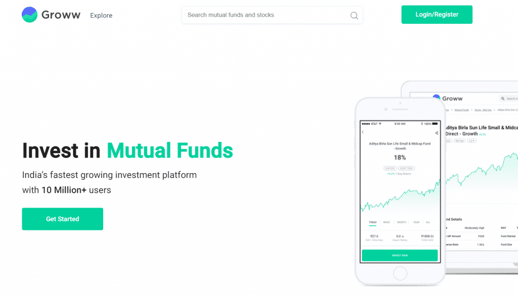 groww: mutual fund investment