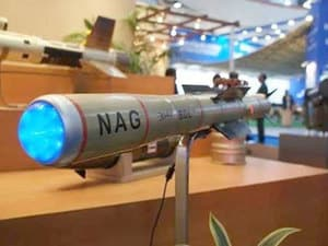 Nag Missile : Types of Missile in Hindi